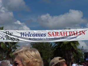 The Villages Welcomes Governor Sarah Palin