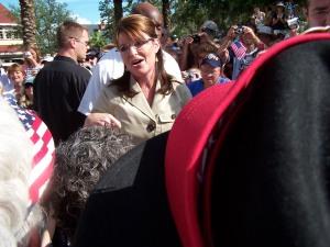 Future Vice President Sarah Palin